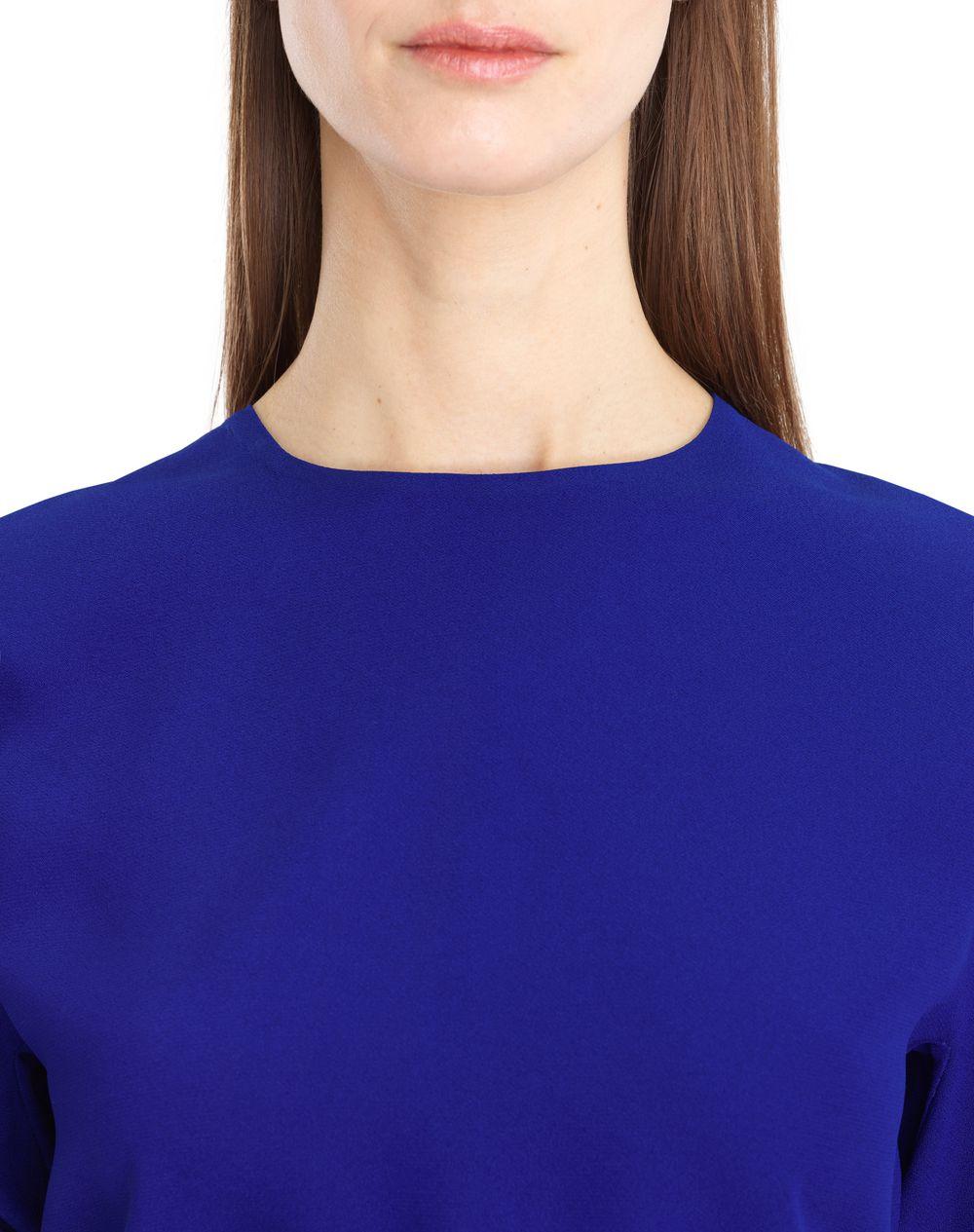 SATIN SABLE DRESS - Lanvin