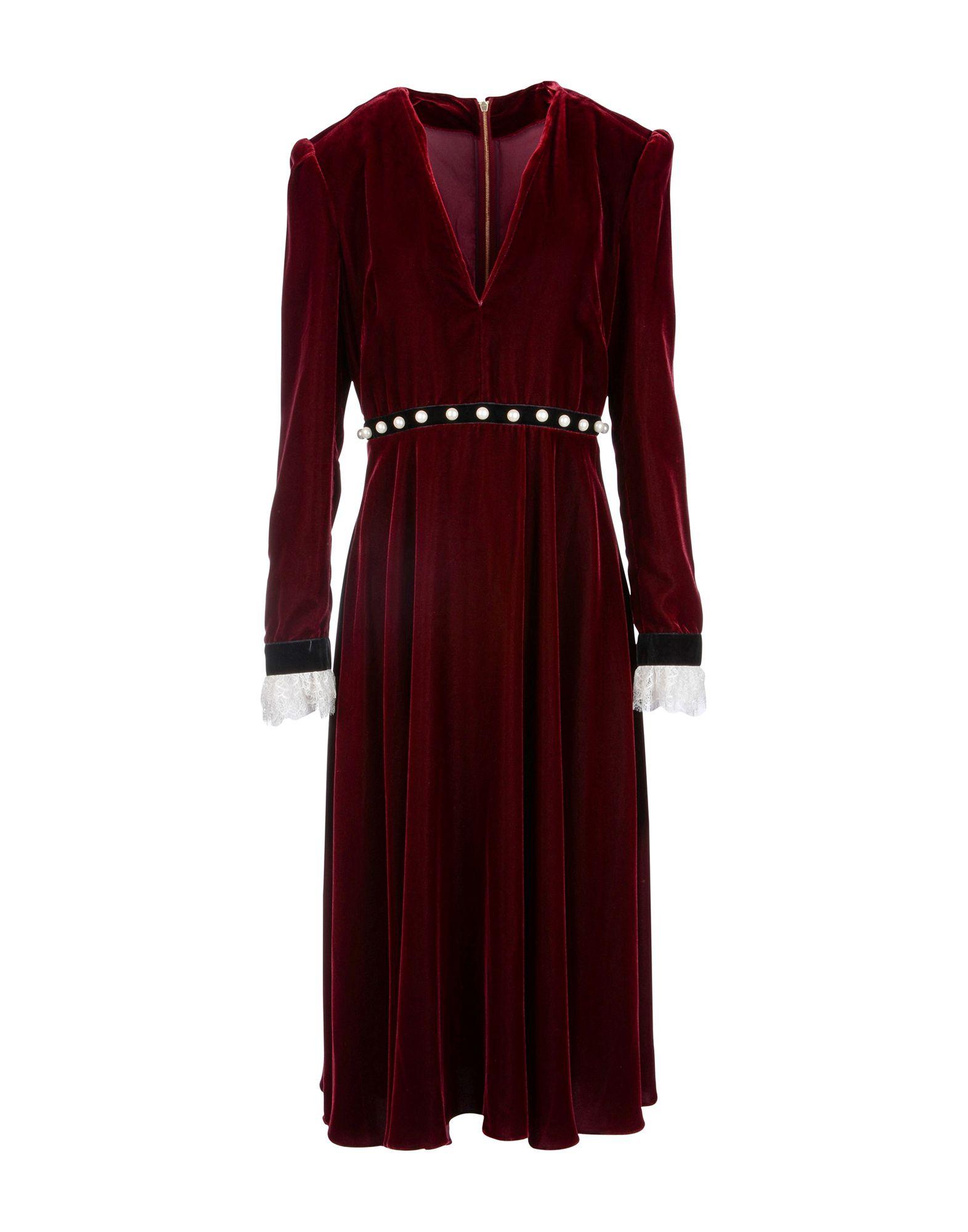 PHILOSOPHY di LORENZO SERAFINI Платье до колена цена 2017