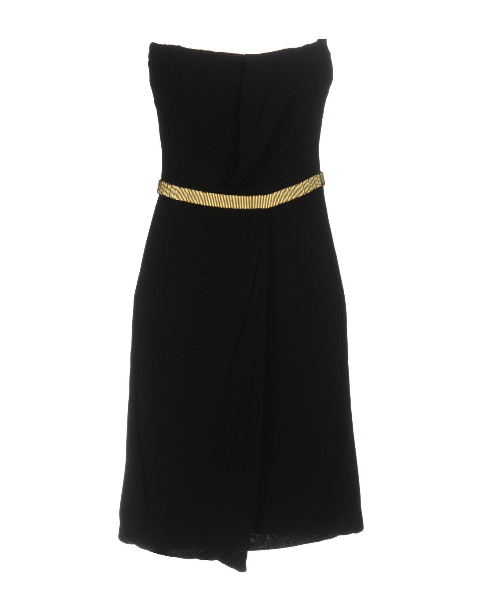 GUCCI Damen Kurzes Kleid Farbe Schwarz Größe 3