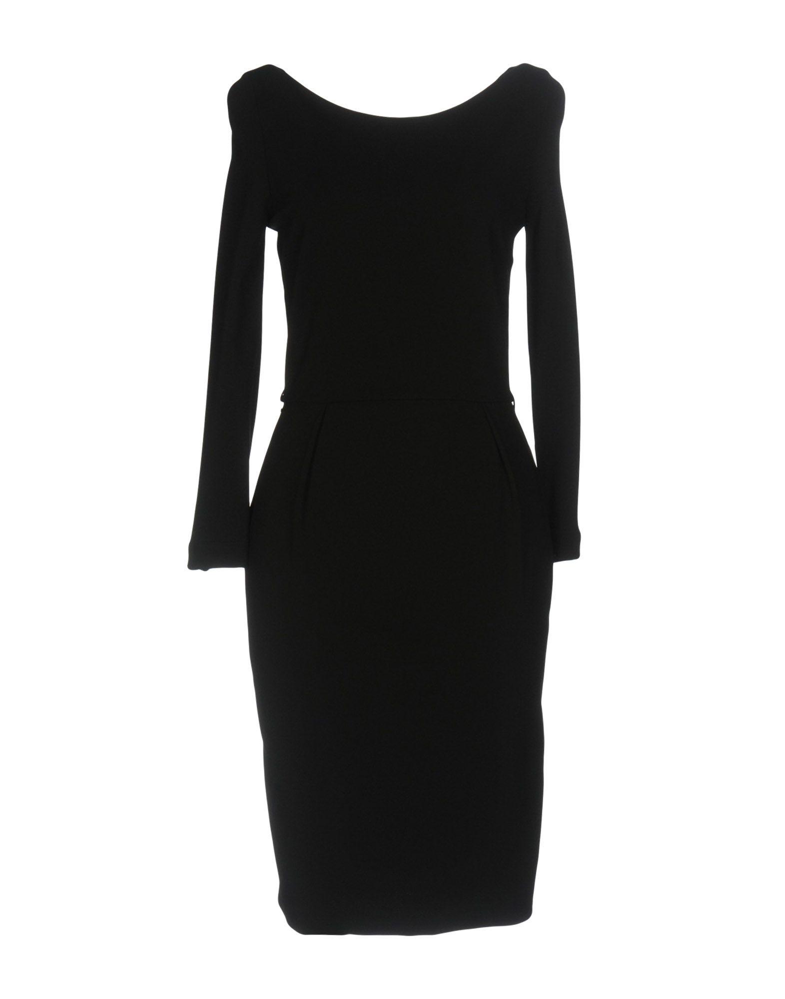 GUCCI Damen Kurzes Kleid Farbe Schwarz Größe 4