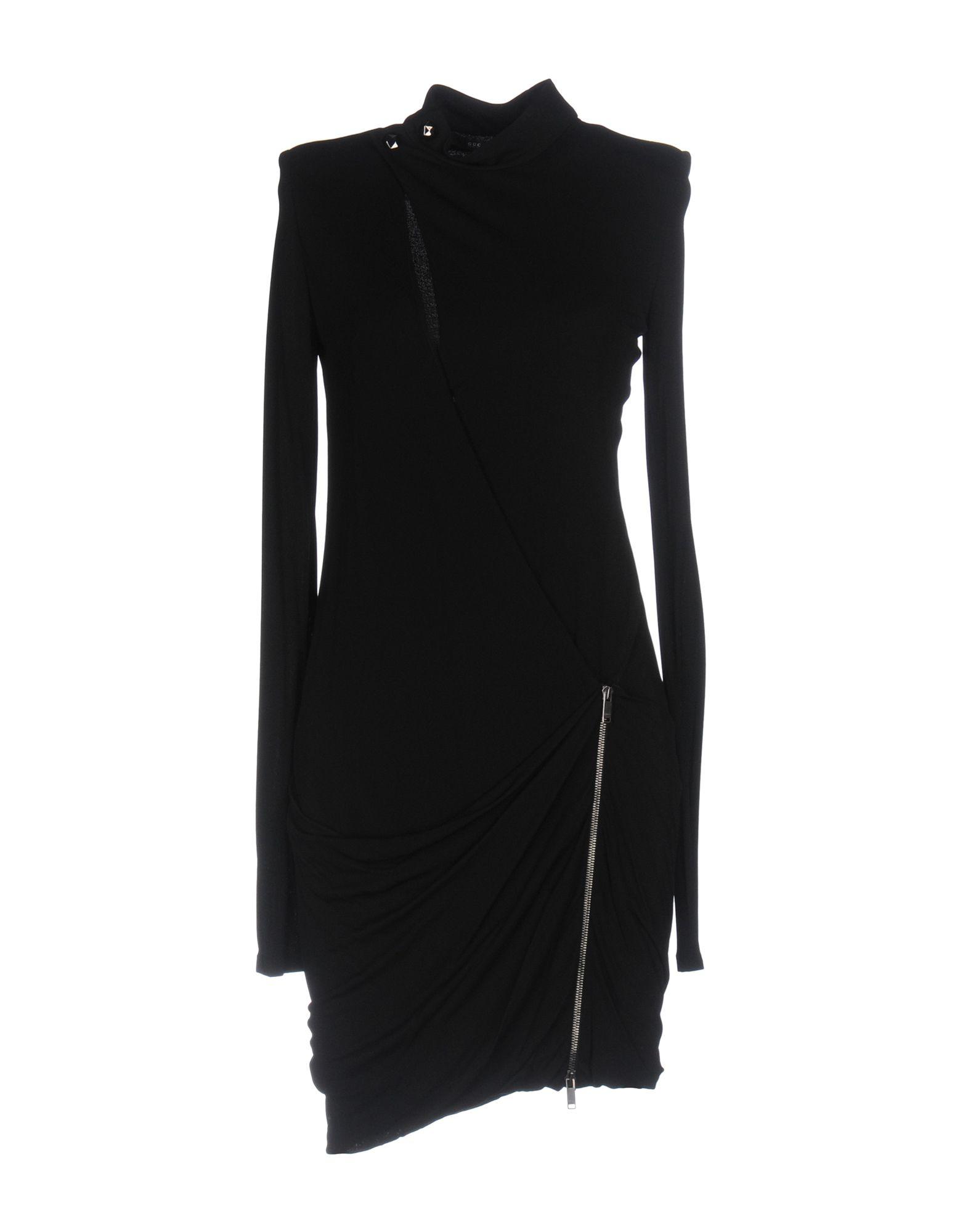 GUCCI Damen Kurzes Kleid Farbe Schwarz Größe 2