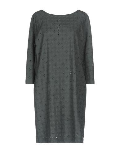 Фото - Женское короткое платье ZHELDA свинцово-серого цвета