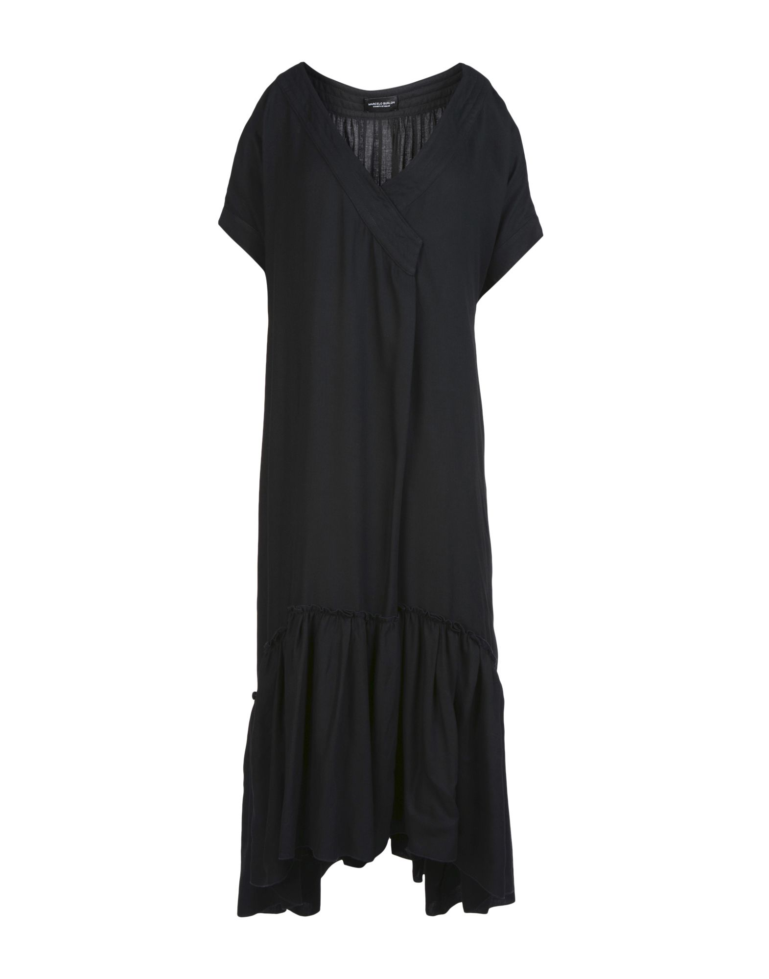 MARCELO BURLON Платье длиной 3/4 lisa corti платье длиной 3 4