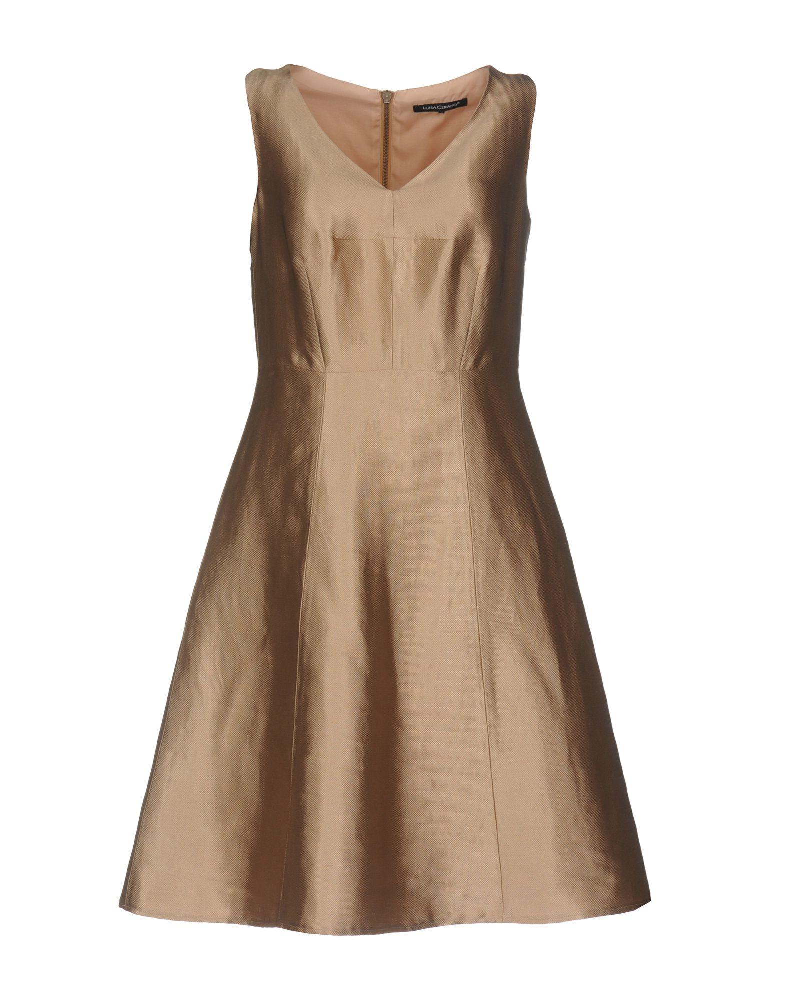 LUISA CERANO Короткое платье