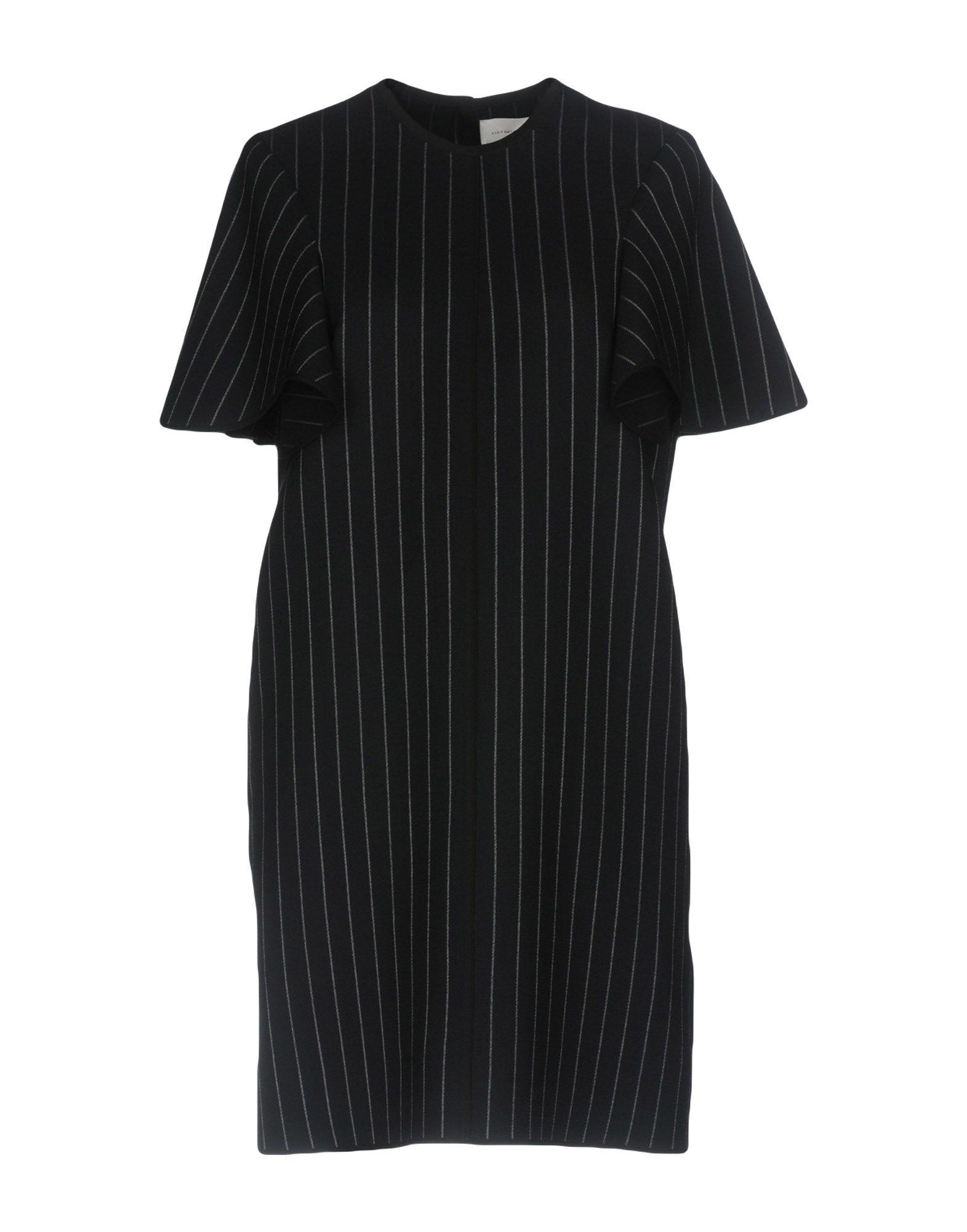 VICTORIA BECKHAM Короткое платье victoria beckham платье от victoria beckham 69775 черный