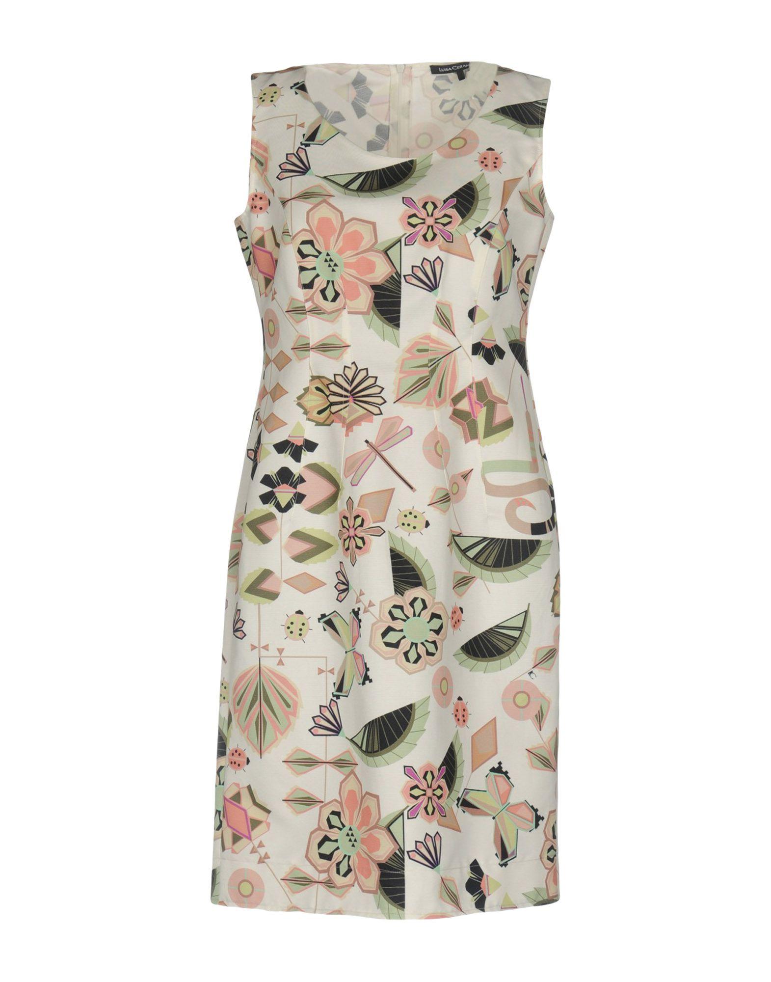 где купить LUISA CERANO Короткое платье по лучшей цене