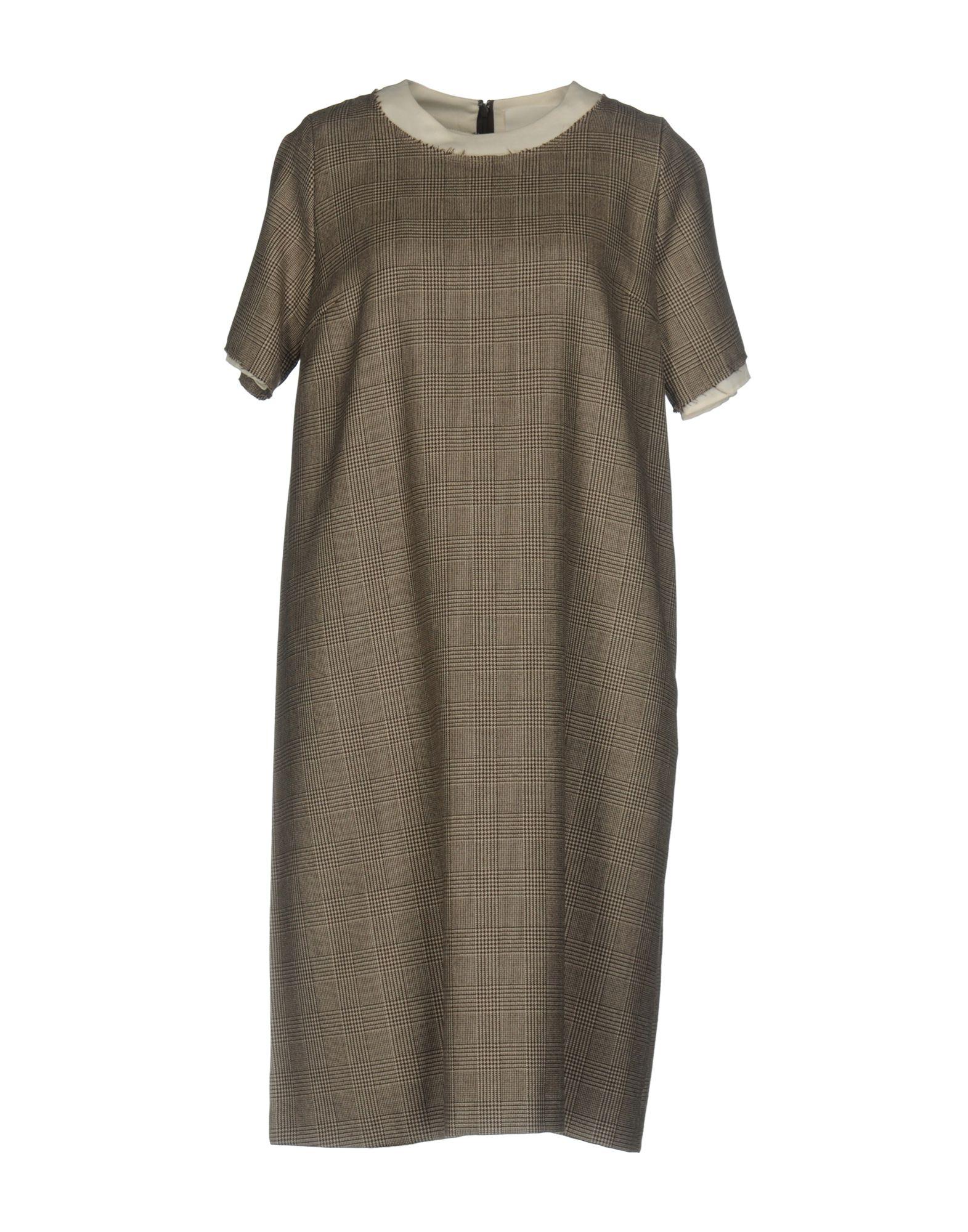 где купить SAWA TAKAI Платье до колена по лучшей цене