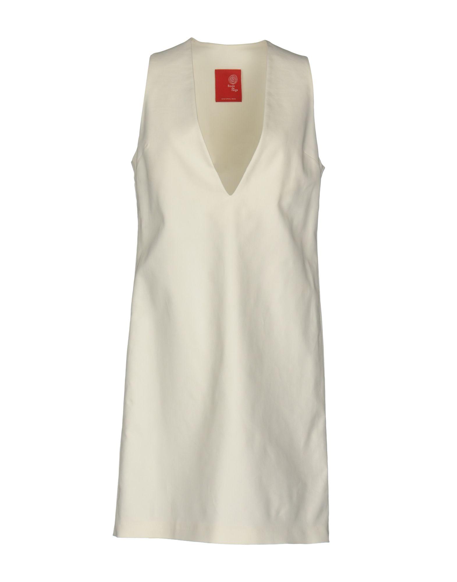 BOULE DE NEIGE Короткое платье cora de adamich короткое платье