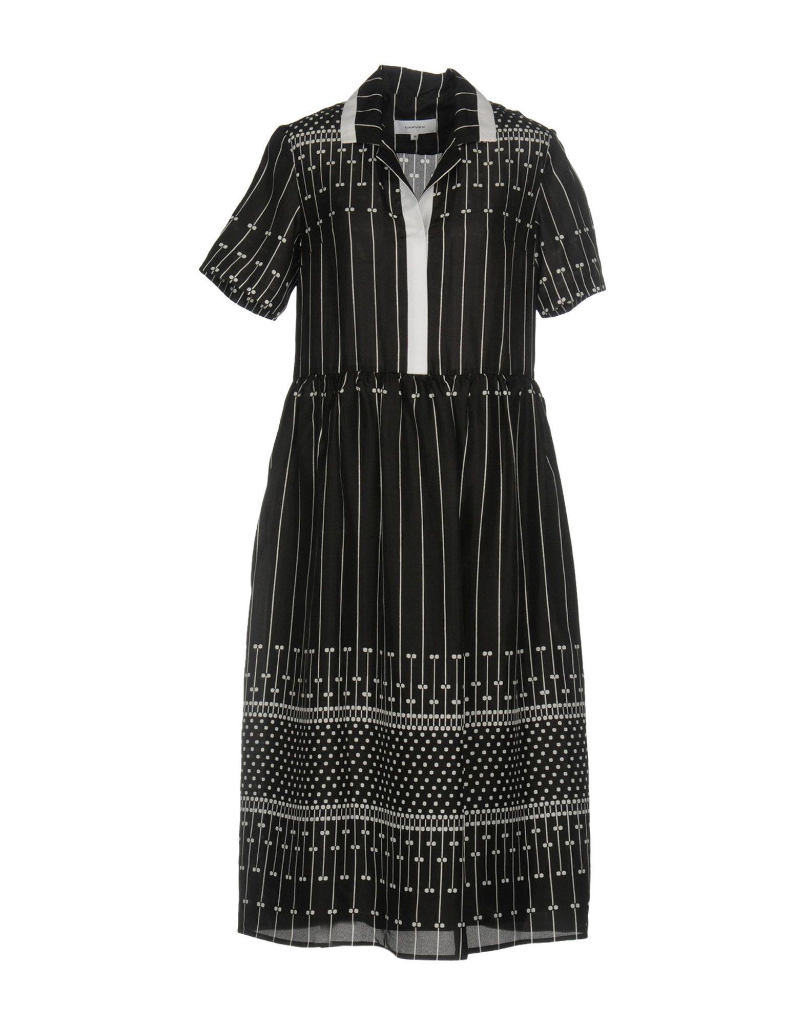 где купить CARVEN Платье длиной 3/4 по лучшей цене