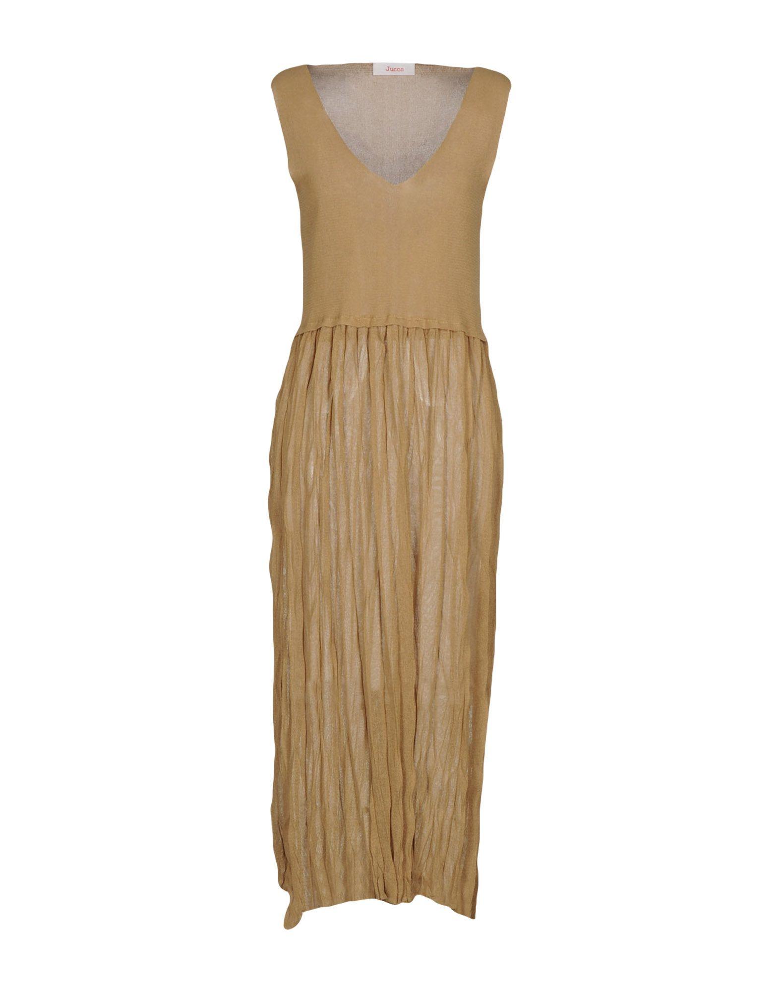 JUCCA Платье длиной 3/4 lisa corti платье длиной 3 4