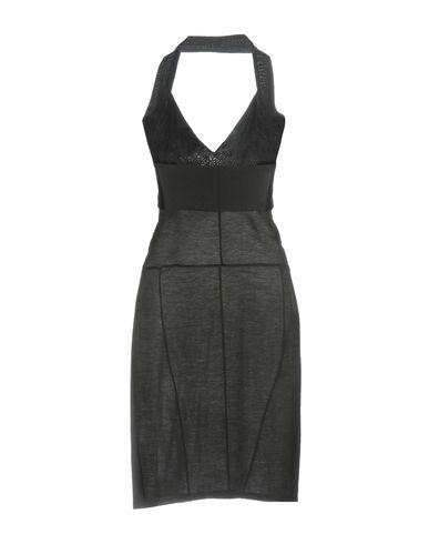 Фото 2 - Платье до колена от KATIE GALLAGHER черного цвета