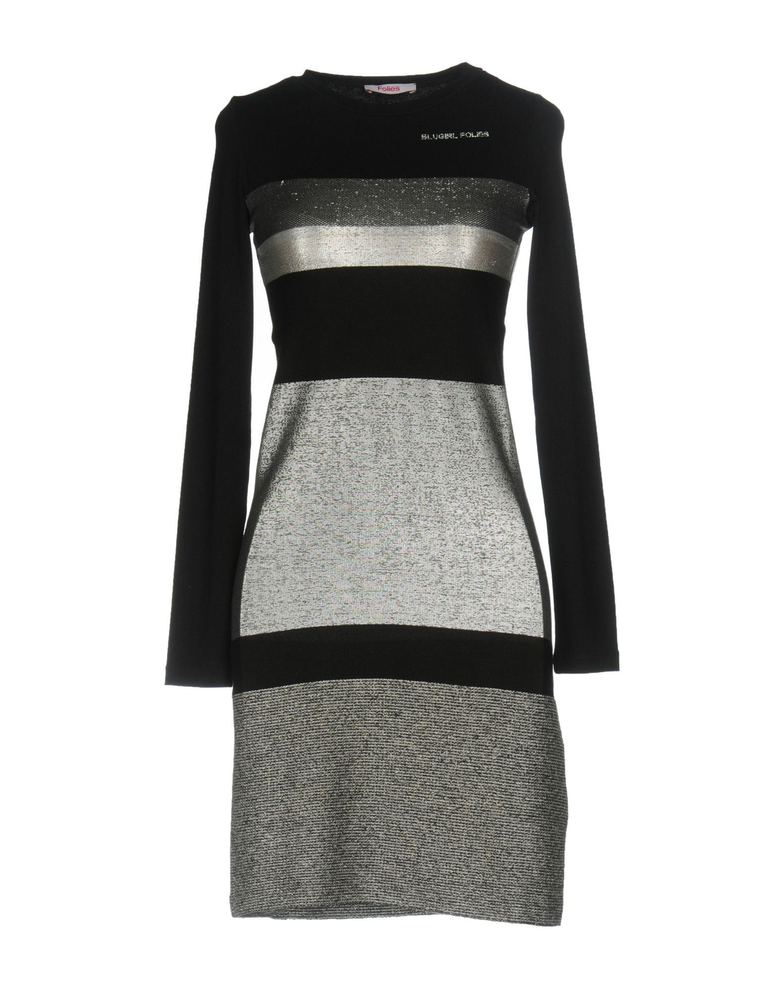 BLUGIRL FOLIES Короткое платье платье трикотаж blugirl folies платья и сарафаны мини короткие