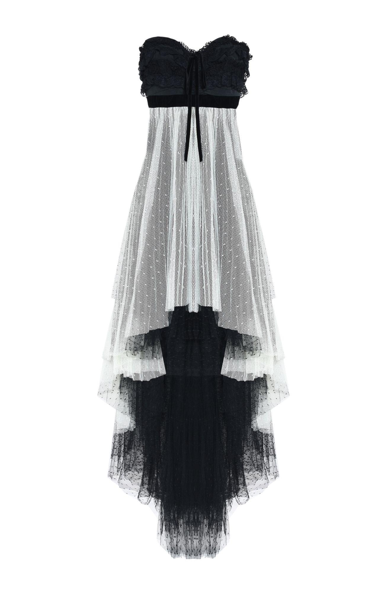 アシンメトリー・イブニングドレス