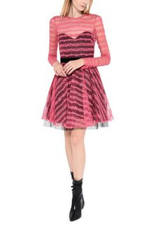 PHILOSOPHY di LORENZO SERAFINI Cocktail dress with transparencies Short Dress D a