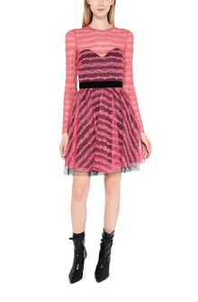 PHILOSOPHY di LORENZO SERAFINI Cocktail dress with transparencies Short Dress D r