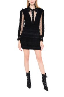 PHILOSOPHY di LORENZO SERAFINI Dress with ruched effect Short Dress Woman r
