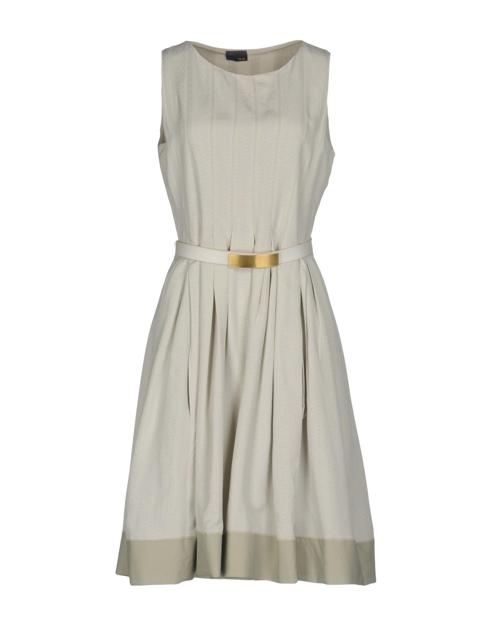 FENDI Платье до колена fendi ремень от fendi 99255