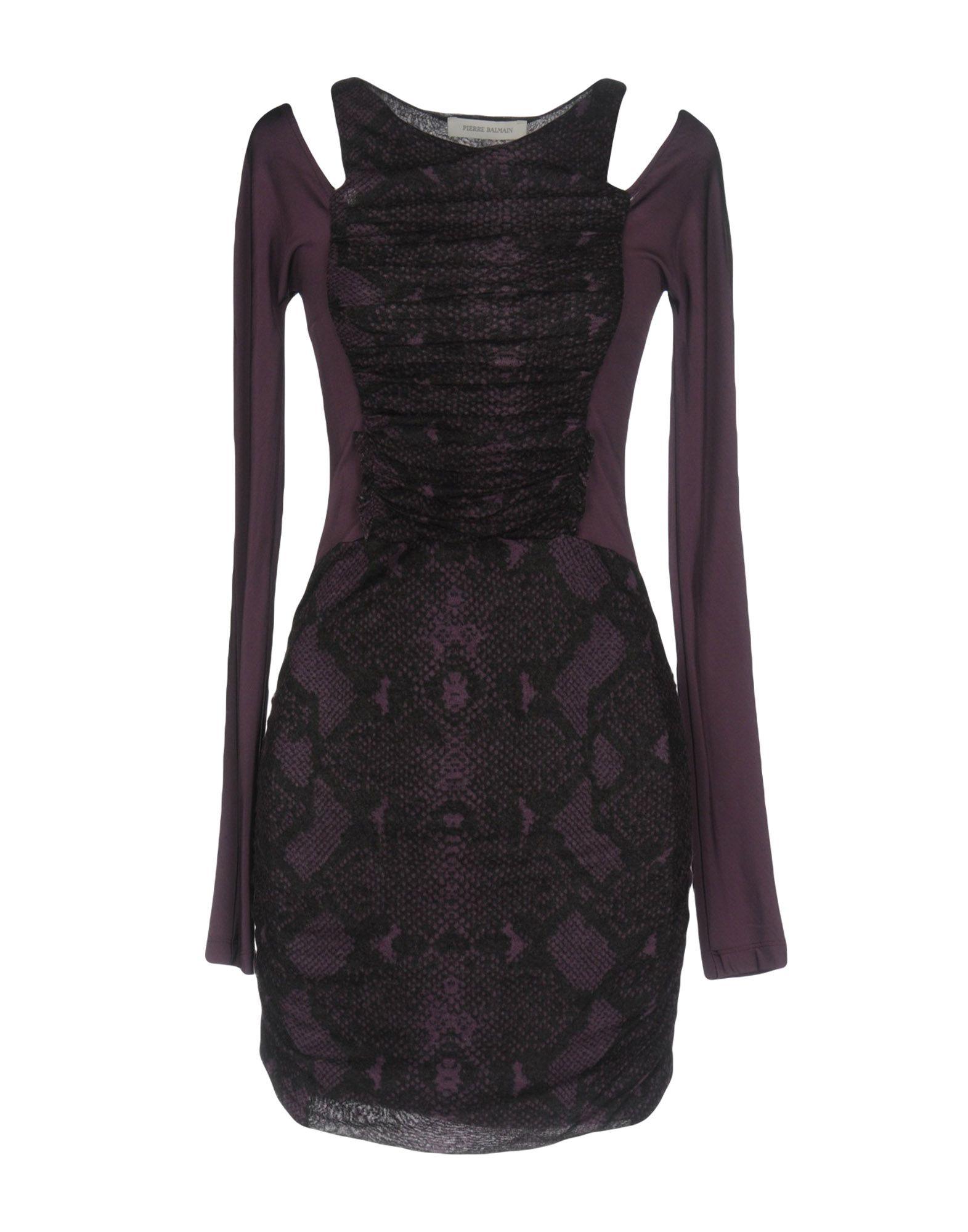 Фото PIERRE BALMAIN Короткое платье. Купить с доставкой