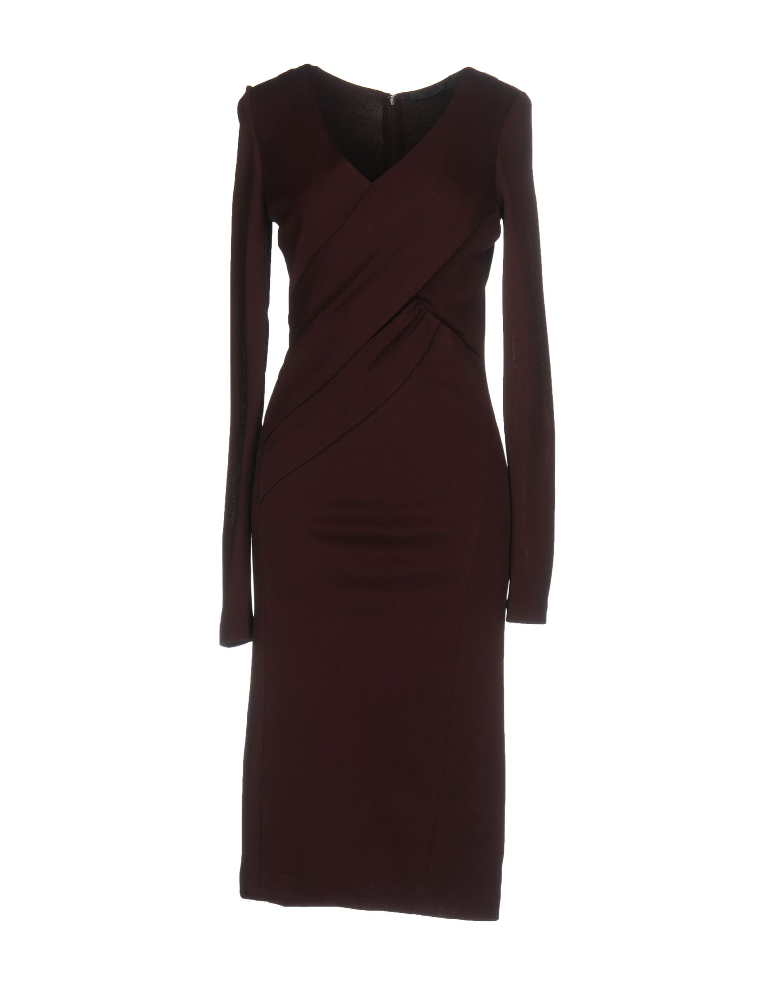 DONNA KARAN Платье до колена цены онлайн