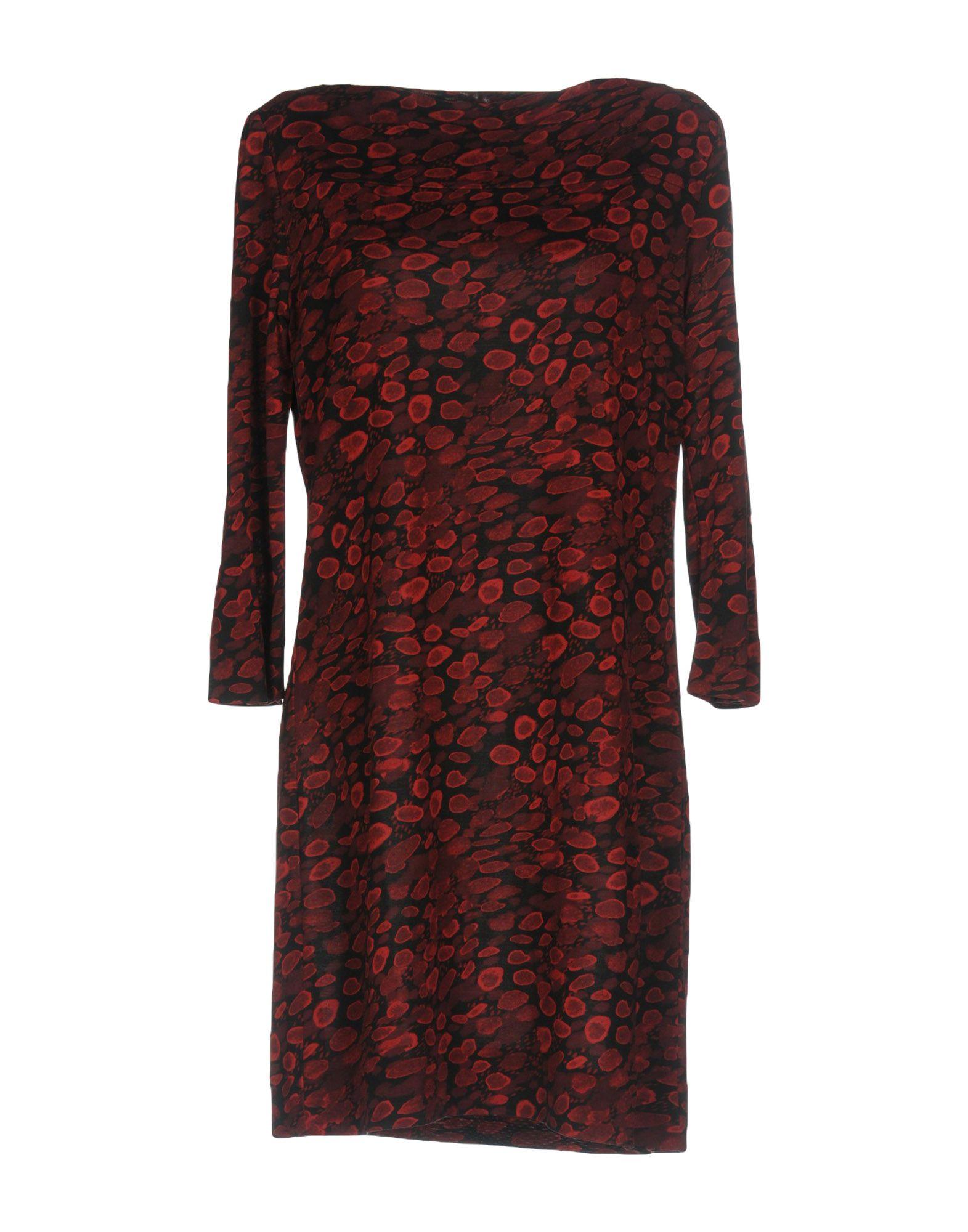 DIANE VON FURSTENBERG Короткое платье diane von furstenberg сандалии marrakesh без задника