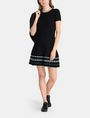 ARMANI EXCHANGE ZIGZAG JAQUARD SWEATER DRESS Mini dress Woman a