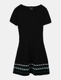 ARMANI EXCHANGE ZIGZAG JAQUARD SWEATER DRESS Mini dress Woman b