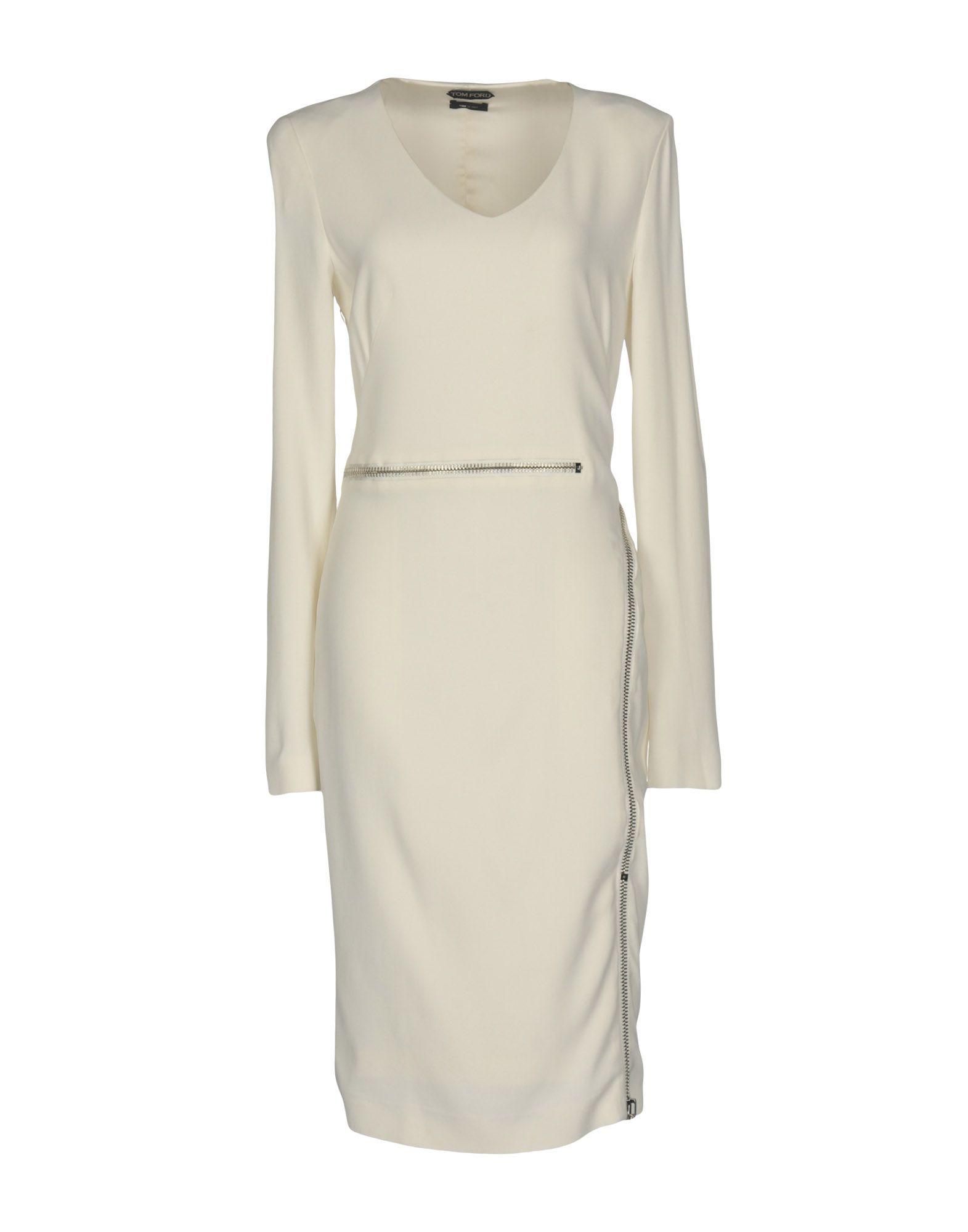 TOM FORD Платье до колена цена 2017