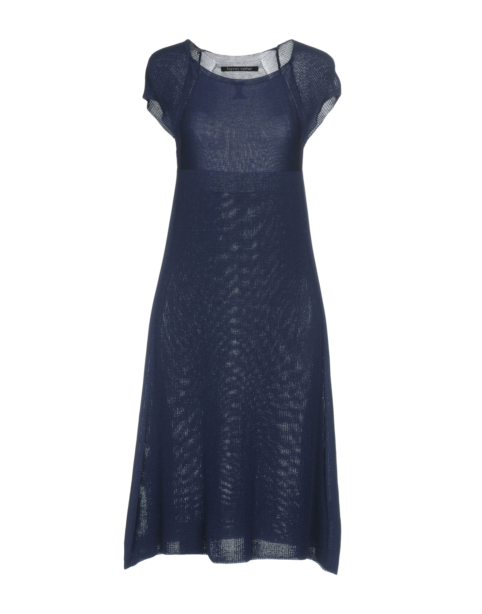 HANNES ROETHER Knee-Length Dress in Blue