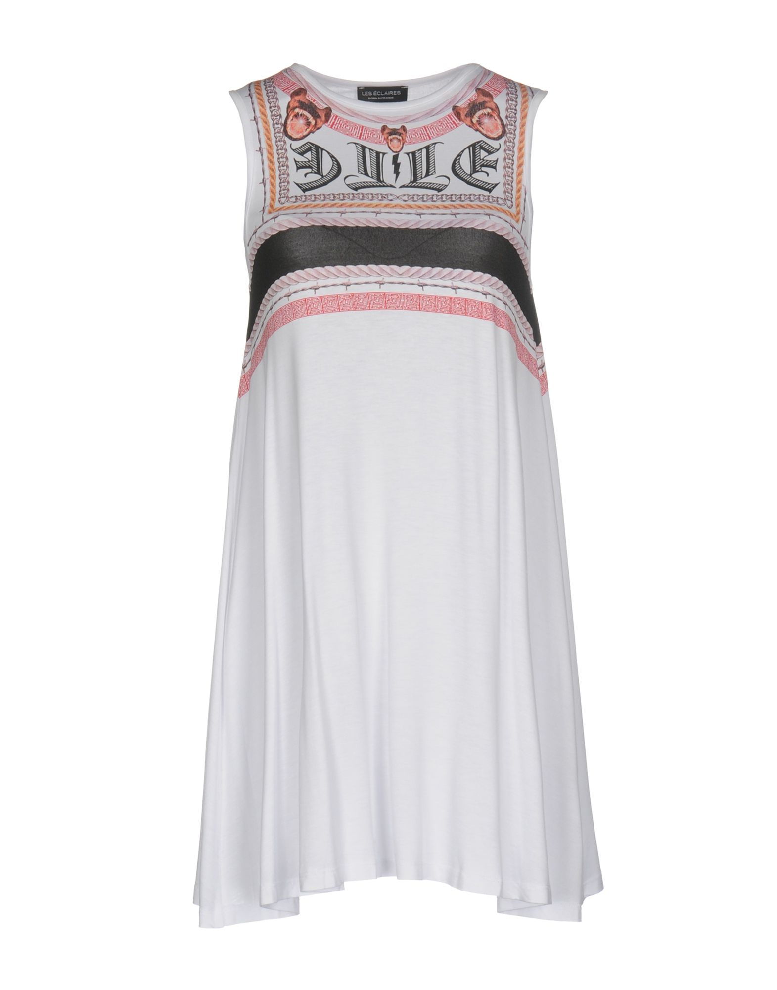 LES ÉCLAIRES Короткое платье цена 2017