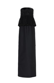 ALBERTA FERRETTI BUSTIER DRESS Long Dress Woman d