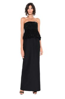 ALBERTA FERRETTI BUSTIER DRESS Long Dress Woman f