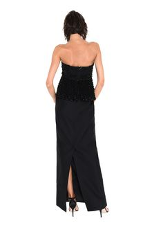 ALBERTA FERRETTI BUSTIER DRESS Long Dress Woman r