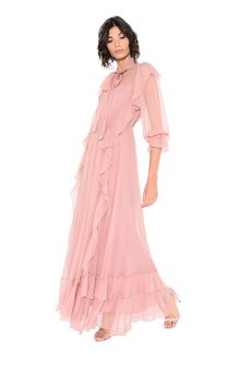 ALBERTA FERRETTI FALL DRESS Long Dress D a