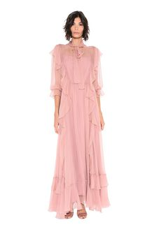 ALBERTA FERRETTI FALL DRESS Long Dress D f