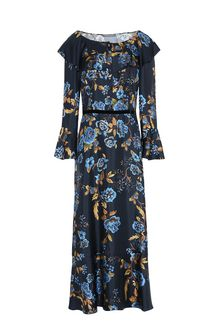 ALBERTA FERRETTI BLOOM LADY DRESS Mid-length Dress Woman d