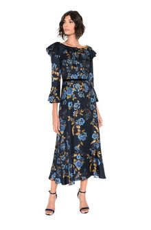 ALBERTA FERRETTI BLOOM LADY DRESS Mid-length Dress Woman f