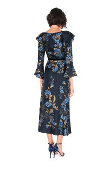 ALBERTA FERRETTI BLOOM LADY DRESS Mid-length Dress Woman r