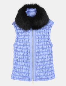ARMANI EXCHANGE SMOCKED PUFFER VEST PUFFER JACKET Woman b