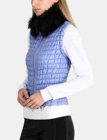 ARMANI EXCHANGE SMOCKED PUFFER VEST PUFFER JACKET Woman d