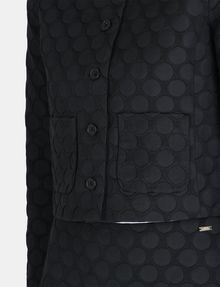 ARMANI EXCHANGE DOT JACQUARD COLLARLESS JACKET Jacket Woman e