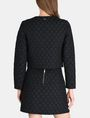 ARMANI EXCHANGE DOT JACQUARD COLLARLESS JACKET Jacket Woman r