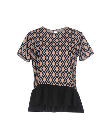 Фото - Женскую блузку HUITDEGRÉS цвет песочный