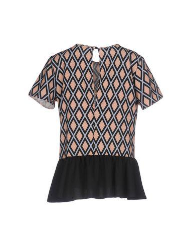 Фото 2 - Женскую блузку HUITDEGRÉS цвет песочный