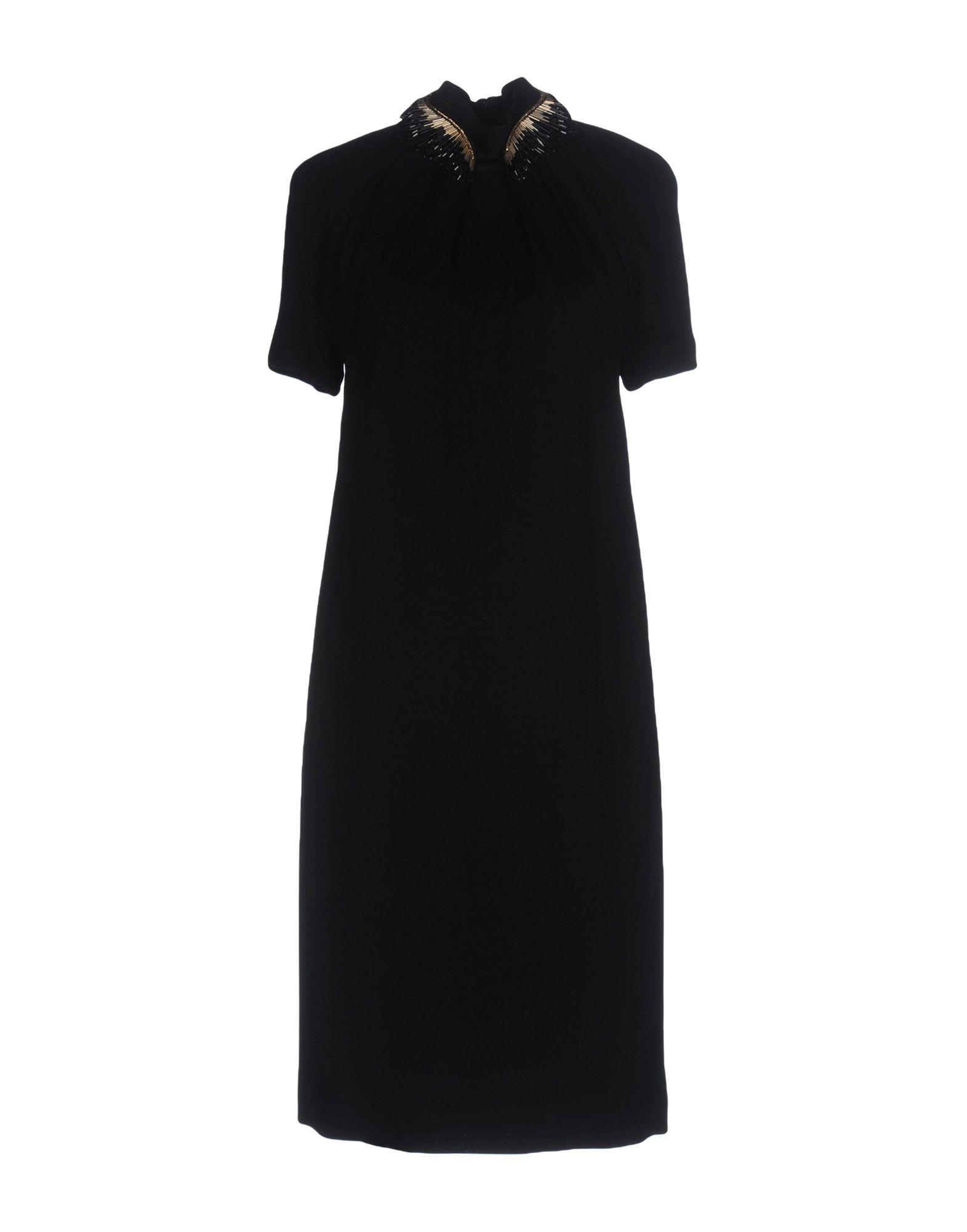 GUCCI Damen Kurzes Kleid Farbe Schwarz Größe 5