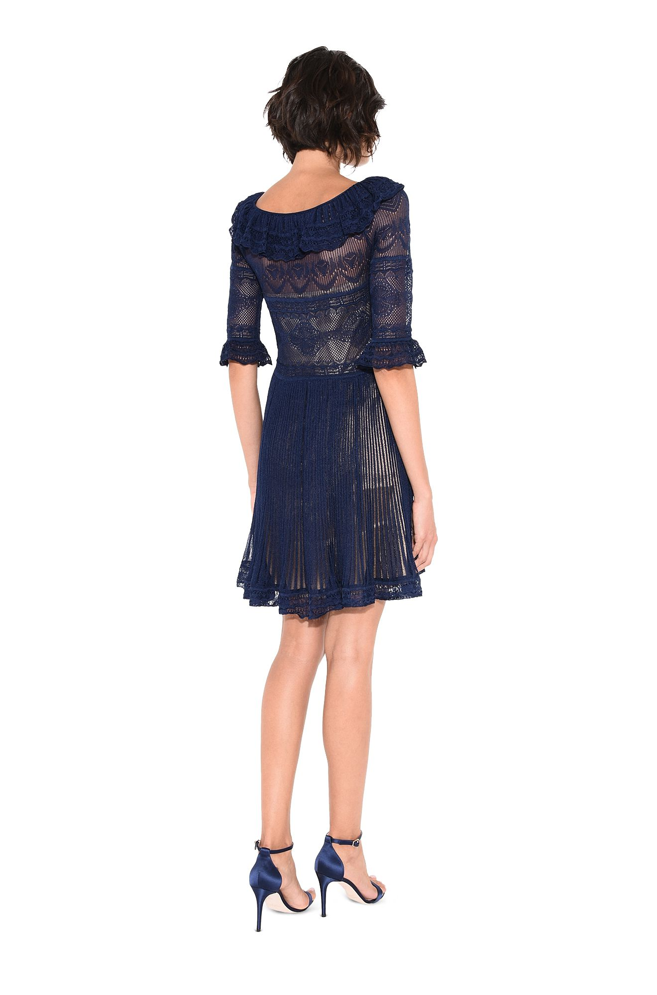 ALBERTA FERRETTI Short Dress D PALACE MINI DRESS r