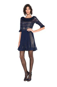 ALBERTA FERRETTI DOLL MINI DRESS Short Dress D a
