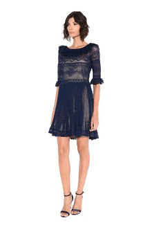 ALBERTA FERRETTI DOLL MINI DRESS Short Dress Woman f