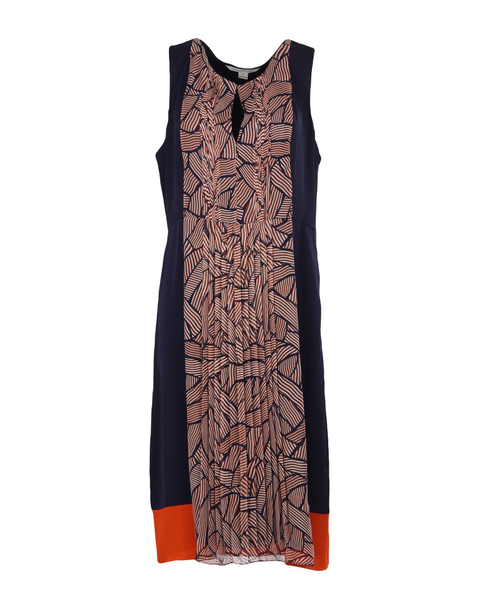 DIANE VON FURSTENBERG Платье до колена недорго, оригинальная цена