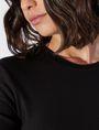 ARMANI EXCHANGE 3/4 SLEEVE SEAMED BODYCON DRESS Midi-Kleid Damen b