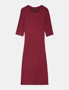ARMANI EXCHANGE 3/4 SLEEVE SEAMED BODYCON DRESS Midi dress Woman b
